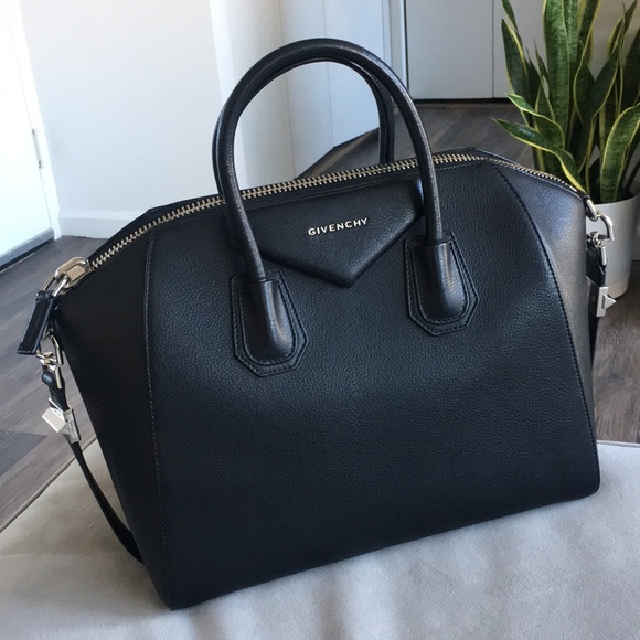 b7031ba2d65 Givenchy Bags | Sold Antigona Medium Black Satchel | Poshmark
